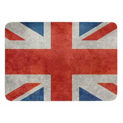 UK Union Jack Flag by Bruce Stanfield Bath Mat