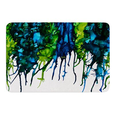 Drops by Claire Day Bath Mat Size: 24 W x 36 L