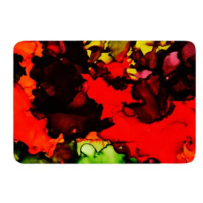 Beach Bum by Claire Day Bath Mat Size: 24 W x 36 L