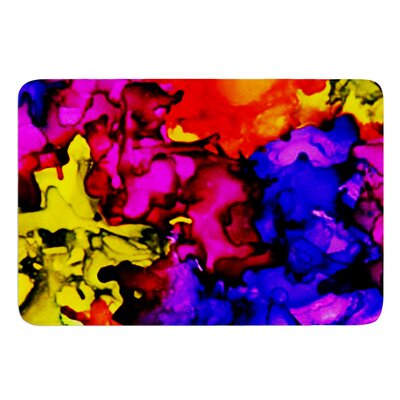 Chica by Claire Day Bath Mat Size: 17W x 24L