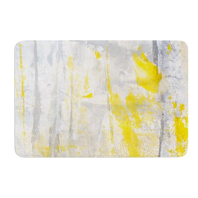 Abstraction by CarolLynn Tice Bath Mat Size: 17W x 24L