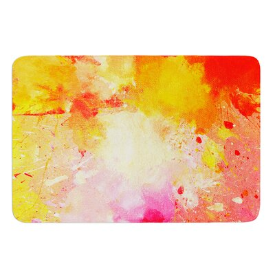 Splash by CarolLynn Tice Bath Mat Size: 24 W x 36 L