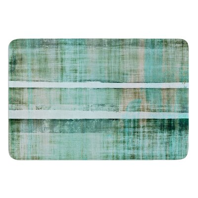 Line Up by CarolLynn Tice Bath Mat Size: 17W x 24L