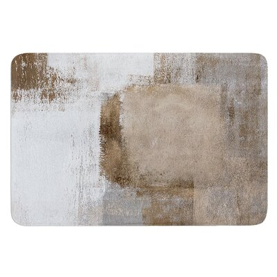 Calm and Neutral by CarolLynn Tice Bath Mat Size: 17W x 24L