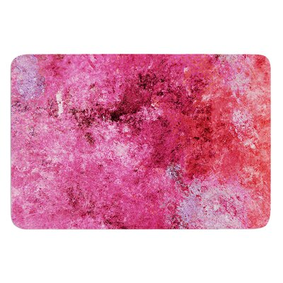 Cotton Candy by CarolLynn Tice Bath Mat Size: 17W x 24L