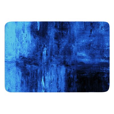 Deep Sea by CarolLynn Tice Bath Mat Size: 17W x 24L