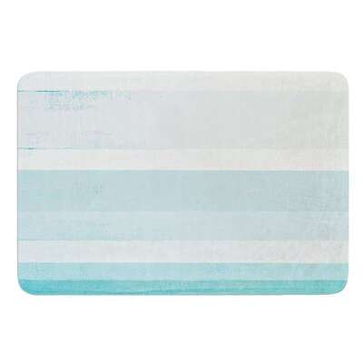 Waves by CarolLynn Tice Bath Mat Size: 17W x 24L