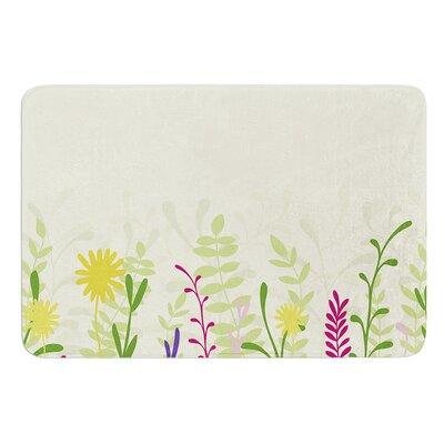 Springtime by Emma Frances Bath Mat Size: 17W x 24L