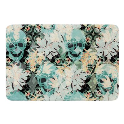 Deads Head Party by Akwaflorell Bath Mat Size: 17W x 24L