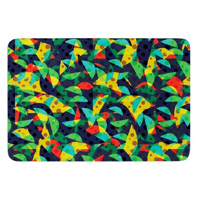 Fruit and Fun by Akwaflorell Bath Mat Size: 24 W x 36 L