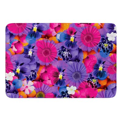 Find the Tiger by Akwaflorell Bath Mat Size: 24 W x 36 L