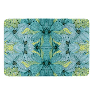 Blues by Akwaflorell Bath Mat Size: 17W x 24L