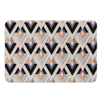 Sweet and Sharp by Akwaflorell Bath Mat Size: 24 W x 36 L