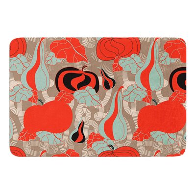 Its Pumpkin Time by Akwaflorell Bath Mat Size: 24 W x 36 L