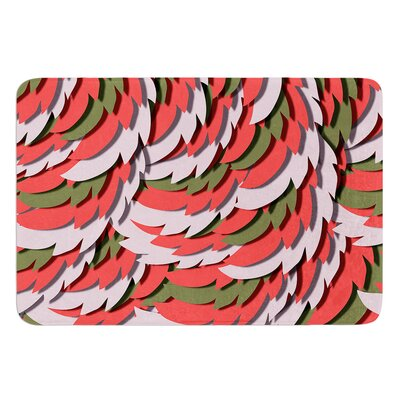 Wings by Akwaflorell Bath Mat Size: 24 W x 36 L