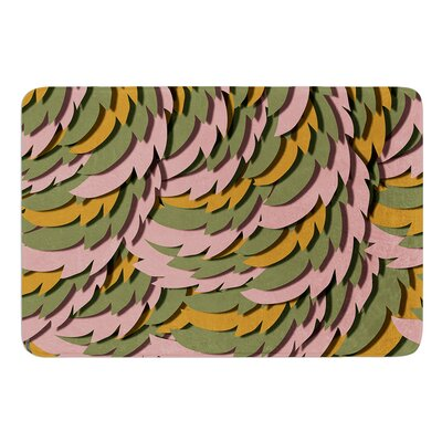 Wings II by Akwaflorell Bath Mat Size: 24 W x 36 L