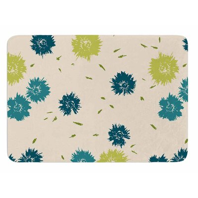 Blue Mollie by Gukuuki Bath Mat