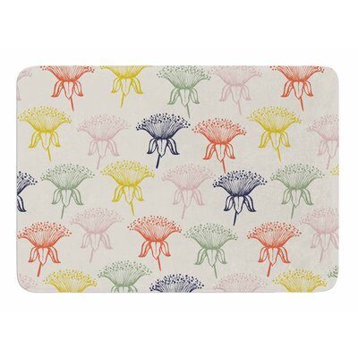 Rainbow Poppies by Gukuuki Bath Mat