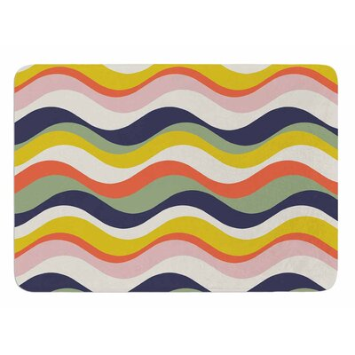 Rainbow Stripes by Gukuuki Bath Mat