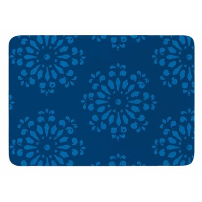 Blue Taylor by Gukuuki Bath Mat