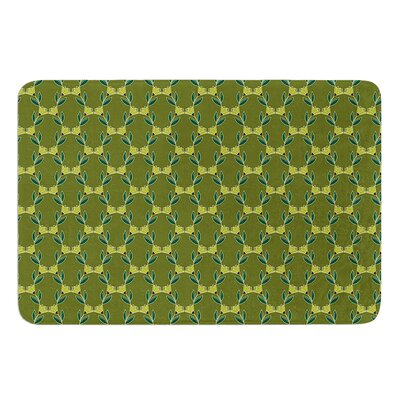 Flora Vine by Holly Helgeson Bath Mat Size: 24 W x 36 L