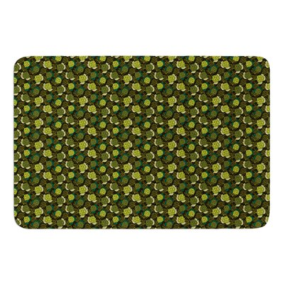 Camillia Dark by Holly Helgeson Bath Mat Size: 17W x 24L