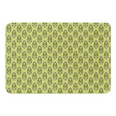 Deco Flourish by Holly Helgeson Bath Mat Size: 24 W x 36 L