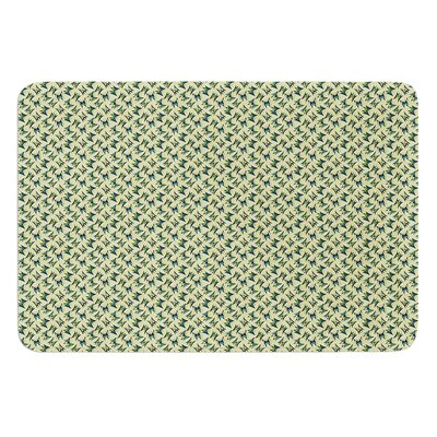 Flutterby by Holly Helgeson Bath Mat Size: 17W x 24L