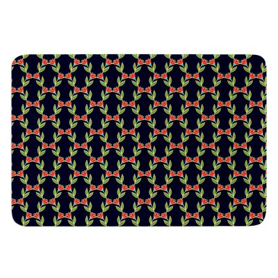 Midnight Vine by Holly Helgeson Bath Mat Size: 17W x 24L