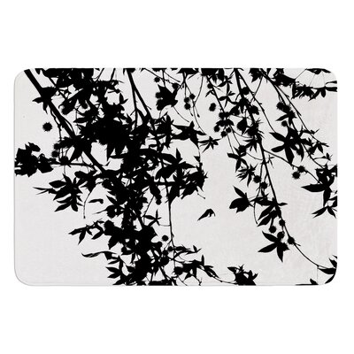 Black on White by Ingrid Beddoes Bath Mat Size: 24 W x 36 L