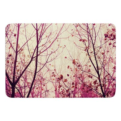My Secret Garden by Ingrid Beddoes Bath Mat Size: 17w x 24L