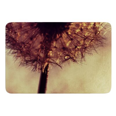 Droplets of Gold by Ingrid Beddoes Bath Mat Size: 24 W x 36 L