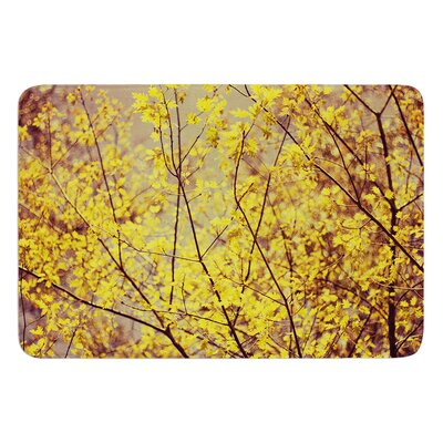 Autumn by Ingrid Beddoes Bath Mat Size: 17w x 24L