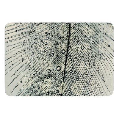 Feather Light by Ingrid Beddoes Bath Mat Size: 24 W x 36 L