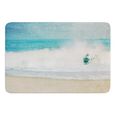 Ocean Blues by Ingrid Beddoes Bath Mat Size: 24 W x 36 L