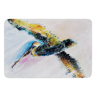 Overhead by Josh Serafin Bath Mat Size: 17 W x 24 L