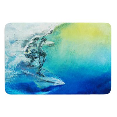 September High by Josh Serafin Bath Mat Size: 24 W x 36 L