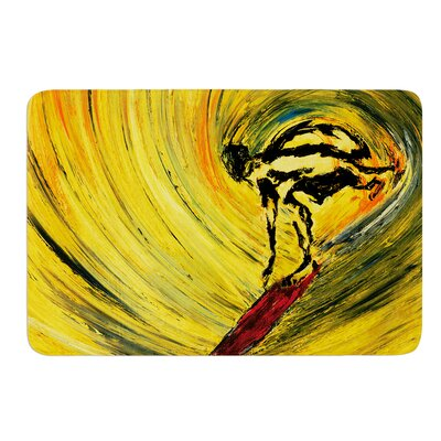 Suppose by Josh Serafin Bath Mat Size: 17 W x 24 L