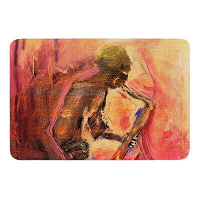 Catch the Wind by Josh Serafin Bath Mat Size: 17 W x 24 L
