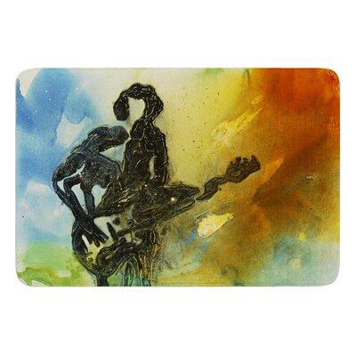 Rhythm by Josh Serafin Bath Mat Size: 17 W x 24 L