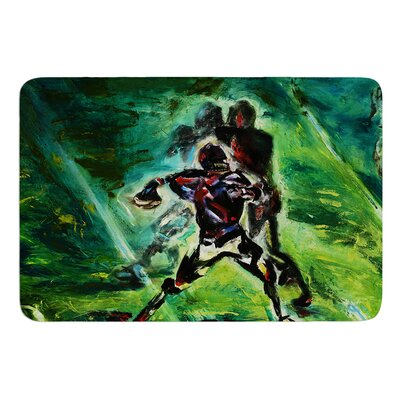 1st and 10 by Josh Serafin Bath Mat Size: 24 W x 36 L