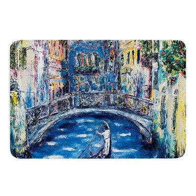 Venice by Josh Serafin Bath Mat Size: 17 W x 24 L