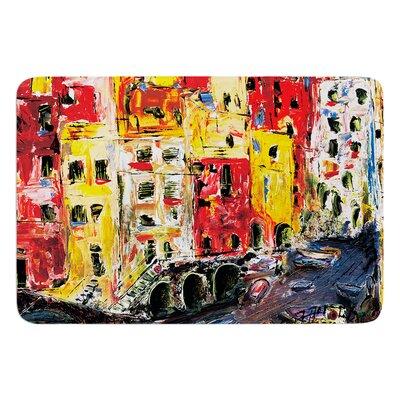 Cinque Terre by Josh Serafin Bath Mat Size: 24 W x 36 L