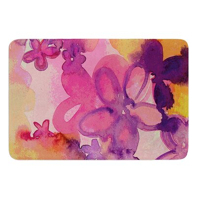 Dissolved Flowers by Louise Machado Bath Mat