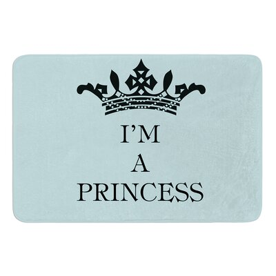 Im a Princess by Louise Machado Bath Mat