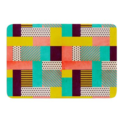 Geometric Love by Louise Machado Bath Mat