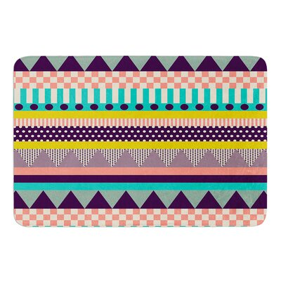 Decorative Stripes by Louise Machado Bath Mat