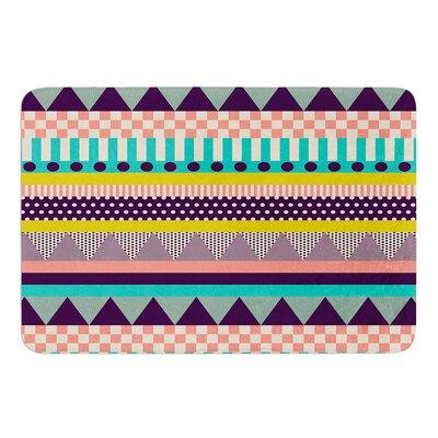 Decorative Stripes by Louise Machado Bath Mat