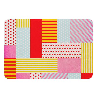 Geometric Pop by Louise Machado Bath Mat