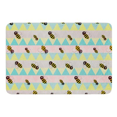 Little Bee by Louise Machado Bath Mat